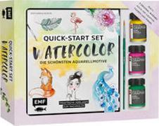 Quick-Start Set - Watercolor - Die schönsten Aquarellmotive