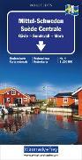 Mittel-Schweden Nr. 04 Regionalkarte Schweden 1:250 000. 1:250'000 von Hallwag Kümmerly+Frey AG (Hrsg.)