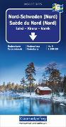 Nord-Schweden (Nord) Nr. 06 Regionalkarte Schweden 1:400 000. 1:400'000 von Hallwag Kümmerly+Frey AG (Hrsg.)