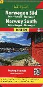 Norwegen Süd - Oslo - Bergen - Stavanger, Autokarte 1:250.000. 1:250'000 von Freytag-Berndt und Artaria KG (Hrsg.)