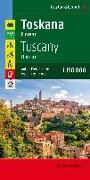 Toskana - Florenz, Autokarte 1:150.000, Top 10 Tips. 1:150'000 von Freytag-Berndt und Artaria KG (Hrsg.)