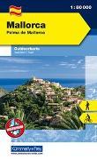 Mallorca Outdoorkarte Spanien 1:80 000. 1:80'000 von Hallwag Kümmerly+Frey AG (Hrsg.)