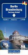 Berlin Brandenburg Nr. 04 Regionalkarte Deutschland 1:275 000. 1:275'000 von Hallwag Kümmerly+Frey AG (Hrsg.)