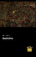 Cover-Bild zu Gedichte von Immermann, Karl