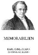 Cover-Bild zu Memorabilien (eBook) von Immermann, Karl
