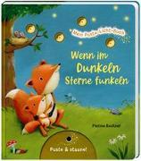 Cover-Bild zu Mein Puste-Licht-Buch: Wenn im Dunkeln Sterne funkeln von Nömer, Christina