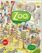Cover-Bild zu Mein großes Zoo-Wimmelbuch von Reckers, Sandra (Illustr.)