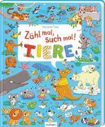 Cover-Bild zu Zähl mal, such mal! Tiere von Thau, Christine (Illustr.)