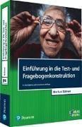 Cover-Bild zu Einführung in die Test- und Fragebogenkonstruktion von Bühner, Markus