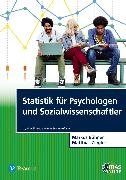 Cover-Bild zu Statistik für Psychologen und Sozialwissenschaftler von Bühner, Markus