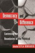 Cover-Bild zu Democracy and Difference (eBook) von Benhabib, Seyla (Hrsg.)