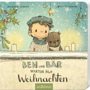 Cover-Bild zu Ben und Bär warten auf Weihnachten von Engler, Michael