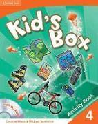 Cover-Bild zu Level 4: Activity Book with CD-ROM - Kid's Box