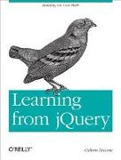 Cover-Bild zu Learning from jQuery (eBook) von Macrae, Callum
