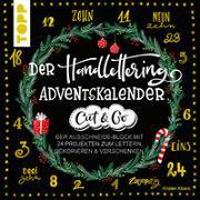 Der Handlettering-Adventskalender - Cut & Go von Albers, Kirsten