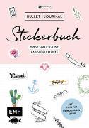 Bullet Journal - Stickerbuch: Band 1: 750 Schmuck- und Layoutelemente