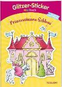 Cover-Bild zu Glitzer-Sticker Malbuch. Prinzessinnen-Schloss von Durczok, Marion (Illustr.)