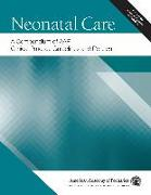 Cover-Bild zu Neonatal Care: A Compendium of AAP Clinical Practice Guidelines and Policies (eBook) von American Academy Of Pediatrics
