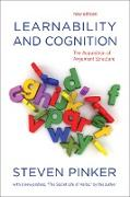 Cover-Bild zu Learnability and Cognition, new edition (eBook) von Pinker, Steven