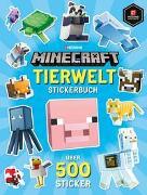 Cover-Bild zu Minecraft Tierwelt Stickerbuch von Minecraft