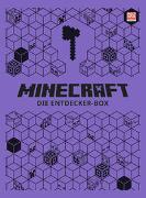Cover-Bild zu Minecraft - Die Entdecker-Box. Geschenkschuber mit drei exklusiven Sonderausgaben, Poster, Türhänger und jede Menge Rätselspaß von Minecraft