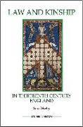 Cover-Bild zu Worby, Sam: Law and Kinship in Thirteenth-Century England