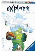 Cover-Bild zu Ravensburger 26982 - Explorers - Abwechslungsreiches Flip & Write Spiel für Erwachsene und Kinder ab 8 Jahren, für Spieleabende mit Freunden oder der Familie, für 1-4 Spieler von Walker-Harding, Phil