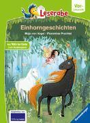 Cover-Bild zu Einhorngeschichten - Leserabe ab Vorschule - Erstlesebuch für Kinder ab 5 Jahren von von Vogel, Maja