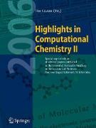 Cover-Bild zu Highlights in Computational Chemistry II von Clark, Tim (Hrsg.)