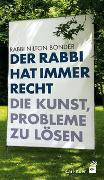 Cover-Bild zu Bonder, Nilton: Der Rabbi hat immer Recht