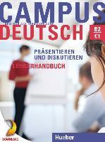 Cover-Bild zu Campus Deutsch - Präsentieren und Diskutieren. Lehrerhandbuch (eBook) von Bayerlein, Oliver