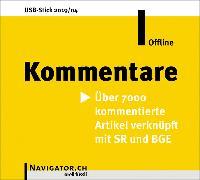 Cover-Bild zu Kommentare Offline von Orell Füssli Verlag (Hrsg.)