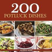 Cover-Bild zu 200 Potluck Dishes von Keogh, Michelle
