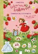 Cover-Bild zu Erdbeerinchen Erdbeerfee. Glitzersticker-Spaß im Erdbeergarten von Dahle, Stefanie