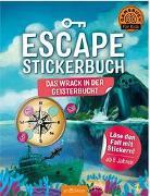 Cover-Bild zu Escape-Stickerbuch - Das Wrack in der Geisterbucht von Kiefer, Philip