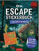 Cover-Bild zu Escape-Stickerbuch - Die Hütte im Wald von Kiefer, Philip