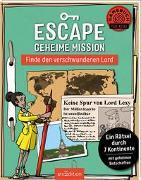 Cover-Bild zu Escape Geheime Mission - Finde den verschwundenen Lord von Kiefer, Philip