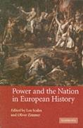 Cover-Bild zu Power and the Nation in European History (eBook) von Zimmer, Oliver (Hrsg.)