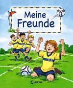 Cover-Bild zu Meine Freunde (Motiv Fußball) von Loewe Eintragbücher (Hrsg.)