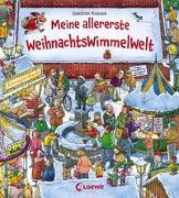 Cover-Bild zu Meine allererste WeihnachtsWimmelWelt von Loewe Weihnachten (Hrsg.)