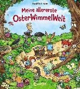 Cover-Bild zu Meine allererste OsterWimmelWelt von Loewe Wimmelbücher (Hrsg.)
