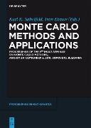 Cover-Bild zu Monte Carlo Methods and Applications (eBook) von Pausinger, Florian (Beitr.)