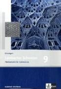 Cover-Bild zu Lambacher Schweizer. 9. Schuljahr. Lösungen. Nordrhein-Westfalen von Schmid, August (Hrsg.)