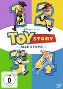 Cover-Bild zu Toy Story 1-4 (4 Movie Coll.) von Unkrich, Lee (Reg.)