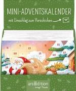 Cover-Bild zu Jatkowska, Ag (Illustr.): Display Mini-Adventskalender zum Verschicken für Kinder