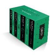 Cover-Bild zu Rowling, J.K.: Harry Potter Slytherin House Editions Paperback Box Set