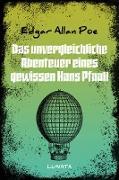 Cover-Bild zu Das unvergleichliche Abenteuer eines gewissen Hans Pfaall (eBook) von Poe, Edgar Allan
