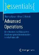 Cover-Bild zu Advanced Operations (eBook) von Kaiser, Thomas