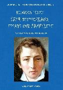 Cover-Bild zu Heine, Heinrich: Heinrich Heines Über Deutschland, Essays und Pamphlete. Ausgewählte Werke IV (eBook)