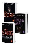 Cover-Bild zu Im Angesicht des Grauens: Die Bestseller »Der Sarg«, »Das Rachespiel« und »Das Dorf« in einem E-Book (eBook) von Strobel, Arno